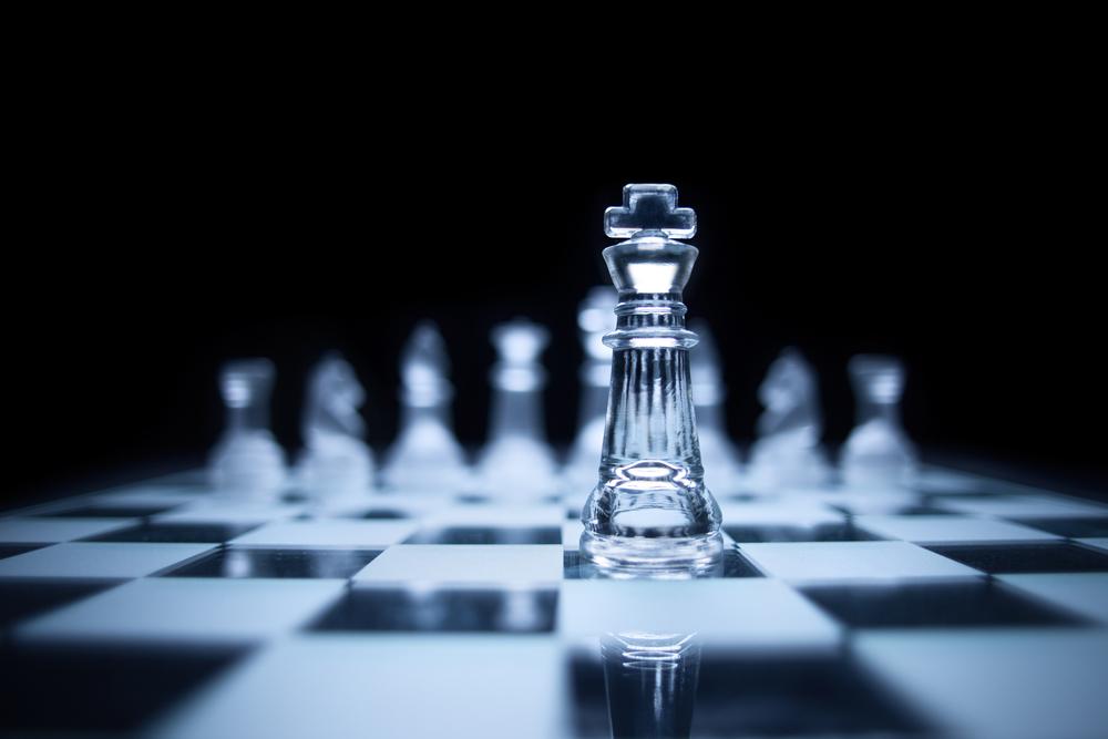 Auf das Schachspielen gekommen!